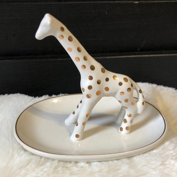 Anthropologie giraffe ring dish